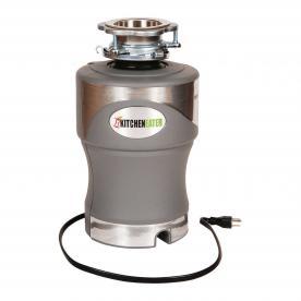 KitchenEater 1 HP Garbage Disposal (model no. KE1CORD)