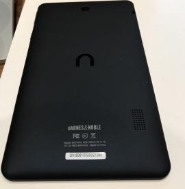 "NOOK Tablet 7"" Back with Serial Number"
