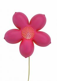 IKEA pink flower BLOMMA wall-mounted children's lamp