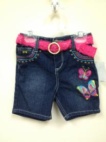 Pink Angel Embroidered Girls' Denim Shorts Recalled by Buy Buy Baby Due to Choking Hazard
