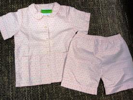 Elephantito Children's Floral Print Pajamas