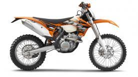 KTM 250 XC-F model year 2013