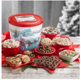Figi's Companies Christmas tins