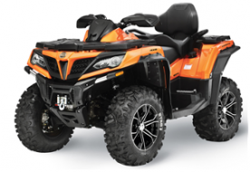 CFMOTO Recalls All-Terrain Vehicles Due to Crash Hazard  (Recall Alert)