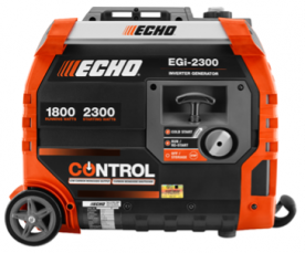 ECHO EGi-2300 Watt Generators Recalled Due to Fire and Burn Hazards; Manufactured by TTI (Recall Alert)