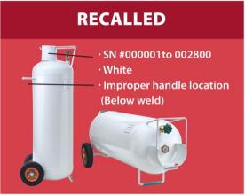 Flame King Recalls Hog 100-Pound Propane Cylinders Due to Fire Hazard