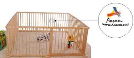 AOSOM Recalls Wooden Playpens Due to Choking and Laceration Hazards