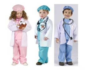 Fun World Recalls Little Pet Vet and Dr. Littles Halloween Costumes with Toy Stethoscopes Due to Choking Hazard