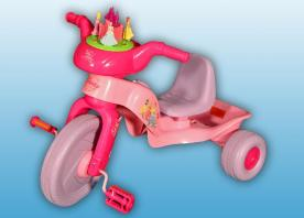 Disney Princess Plastic Trikes Recalled by Kiddieland Due to Laceration Hazard