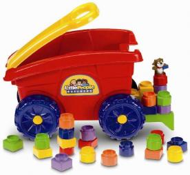 Fisher-Price Recalls to Repair Little People Builders' Load 'n Go Wagons due to Laceration Hazard