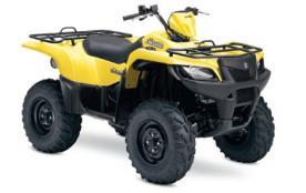 American Suzuki Motor Corp. Recalls KingQuad ATVs Due to Fire Hazard