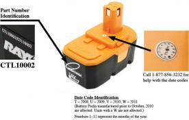 BatteriesPlus Recalls Replacement Battery Packs Used with Cordless Tools Due to Explosion Hazard