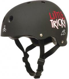 Black Little Tricky Helmet