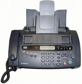 Recalled HP fax machine