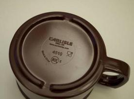 Melamine Stackable Mug, 8 oz, Model #4510
