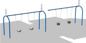 Swing Sets Recalled for Repair by BCI Burke Due to Fall Hazard