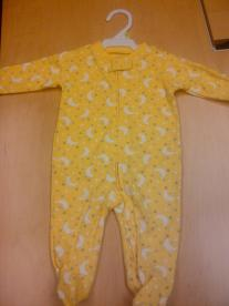 Carter's Recalls Infant Clothing with Zippers Due to Choking Hazard