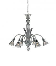 9155 Giselle chandelier, smoke