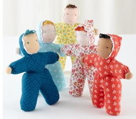 The Land of Nod Recallsa Plush Dollies Due to Choking Hazard