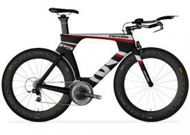 Recalled Cervélo P5 Three with SRAM Red model with Aura Pro handlebars.