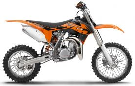 2013 KTM 85 SX and 85 SXS models