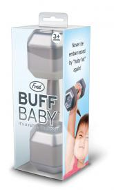 Packaged Buff Baby baby rattles