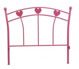 Head board with heart shape design