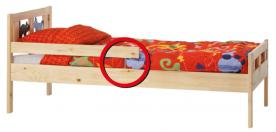 IKEA Expands Recall of Junior Beds that Pose Laceration Hazard