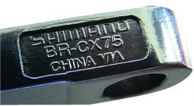 Shimano BR-CX75 disc brake caliper model number