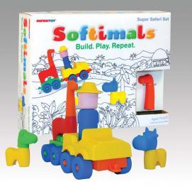 Infinitoy Recalls Softimals Toy Sets Due to Choking and Aspiration Hazard