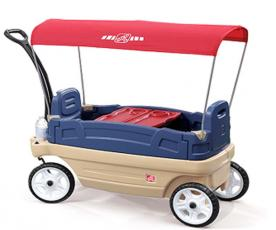 Step2 Recalls Ride-On Wagon Toys Due to Fall Hazard; Sold Exclusively at Toys R Us
