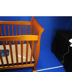 Angelcare Movement and Sound Baby Monitor with Rigid Strips Repair Kit Installed
