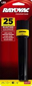 Rayovac LED Industrial flashlight Model ILED2AA