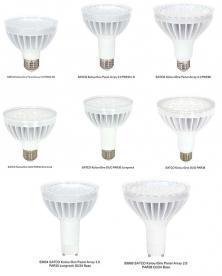 SATCO KolourOne Panel Array and DUOLED Light Bulbs