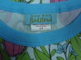 Boo Boo Bedhead tag