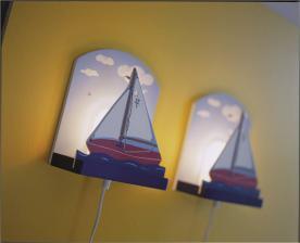 Lámpara para niños de montaje en pared SEGLATS