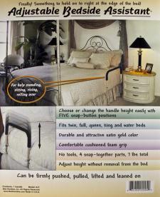 Imagen en empaque de barandal de cama AJ1