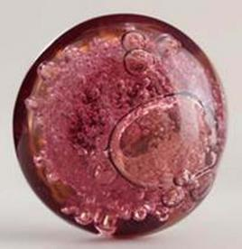 Cost Plus World Market Glass Amethyst Bubble Knobs