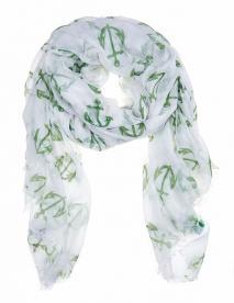 Julie Vos Sierra women's Anchor scarf -- green