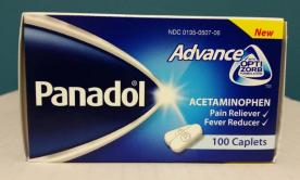 Tabletas para el alivio del dolor Panadol Advance