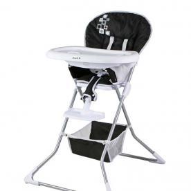 Dream On Me Dinah High Chair (black with white trim)