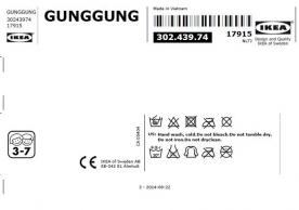 Identifying tags on suspension strap