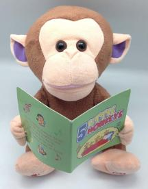 Giggles International Recalls Animated Monkey Toy