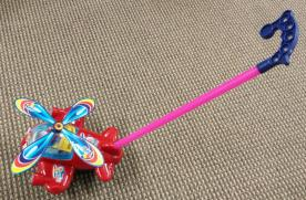 Airplane push toy