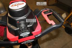 StrikeMaster Lithium Lazer Ice Auger (motor)
