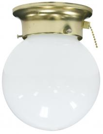 Westinghouse Lighting Model 70242 Glass Shade Holder, with sample shade
