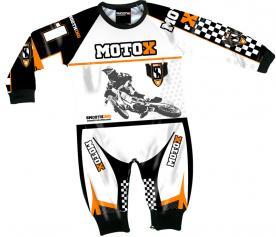 """MotoX"" themed children's pajamas"