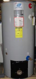 John Wood brand model JW517 50 gallon oil-fired water heater