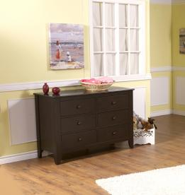 Pali Design Salerno Double Drawer Dresser