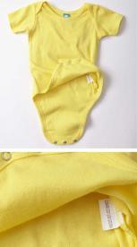 Label on recalled Precious Cargo one-piece garment